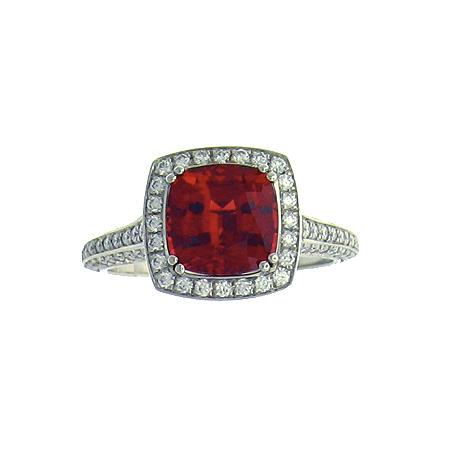 Mark Patterson ruby ring