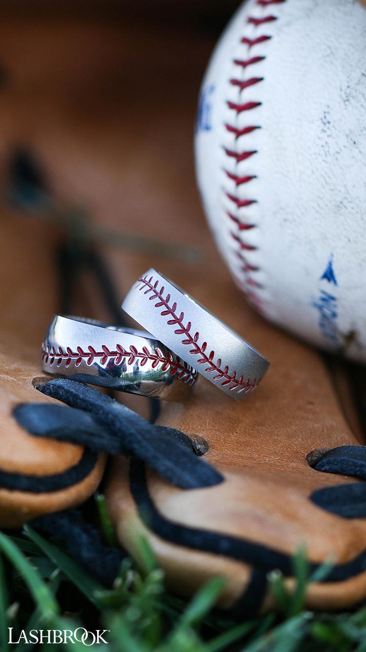 Lashbrook men's baseball rings