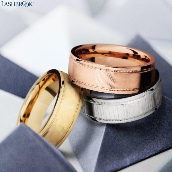 Lashbrook men's rings