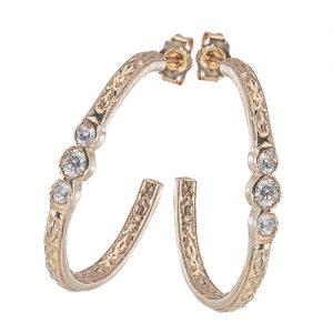 Just Jules half earrings