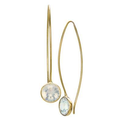 Toby Pomeroy - opal earrings
