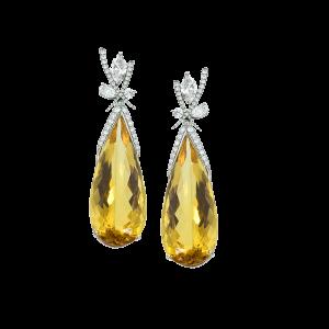Mark Patterson yellow earrings