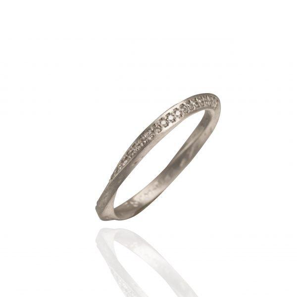 dark silver ring