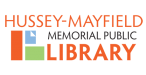 Hussey-Mayfield Memorial Public Library logo