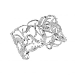 intricate silver ring
