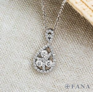 Fana diamond pendant