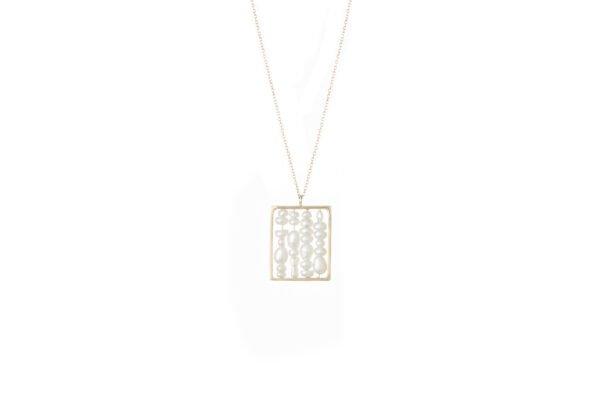 WWAKE Small Weaving Necklace