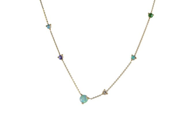 WWAKE Linear Chain Necklace