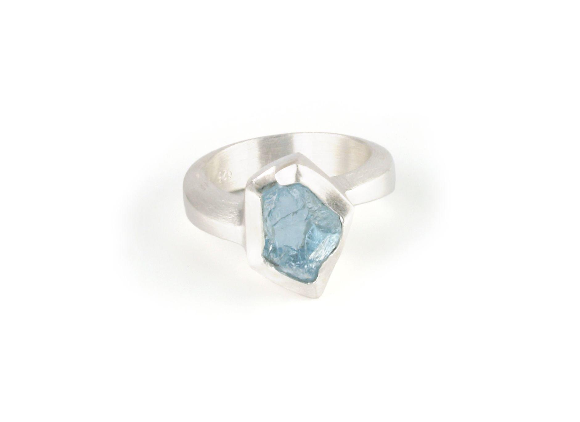 ANZA Aquamarine Ring