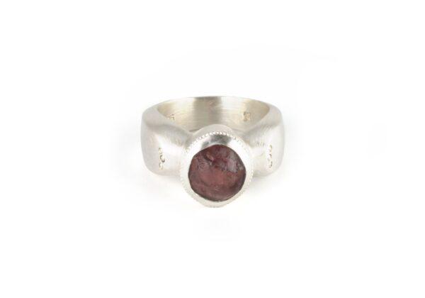 ANZA Garnet Ring