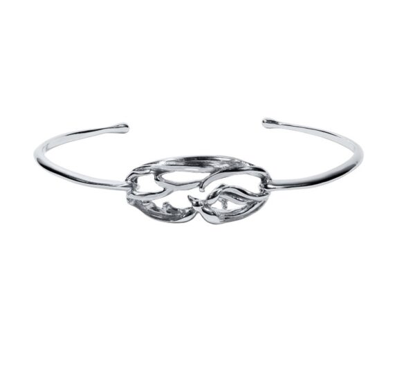 Stephanie Occhipinti Swallows Circle Bracelet