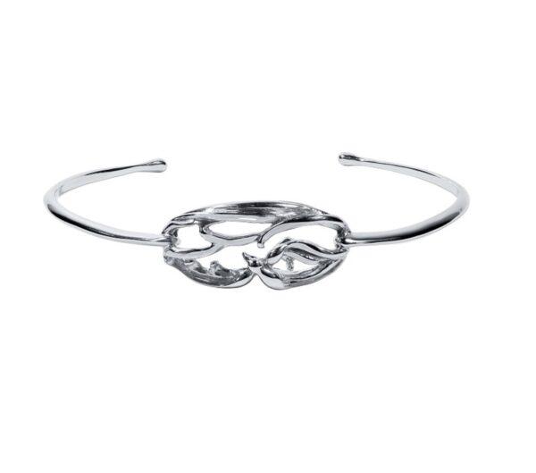 Stephanie Occhipinti Swallows Circle Bracelet
