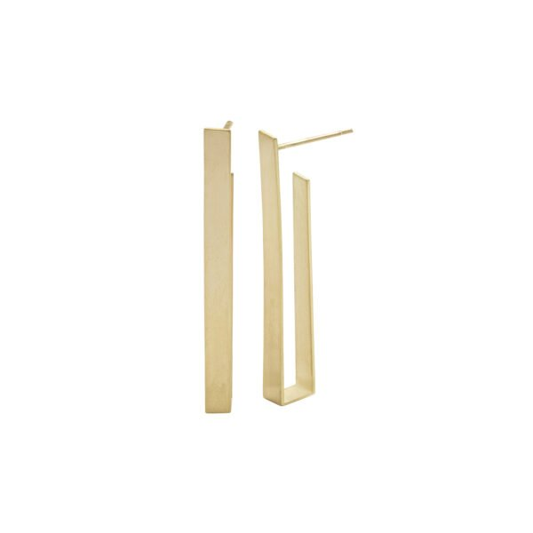 Kyla Katz Long Rectangular Earrings