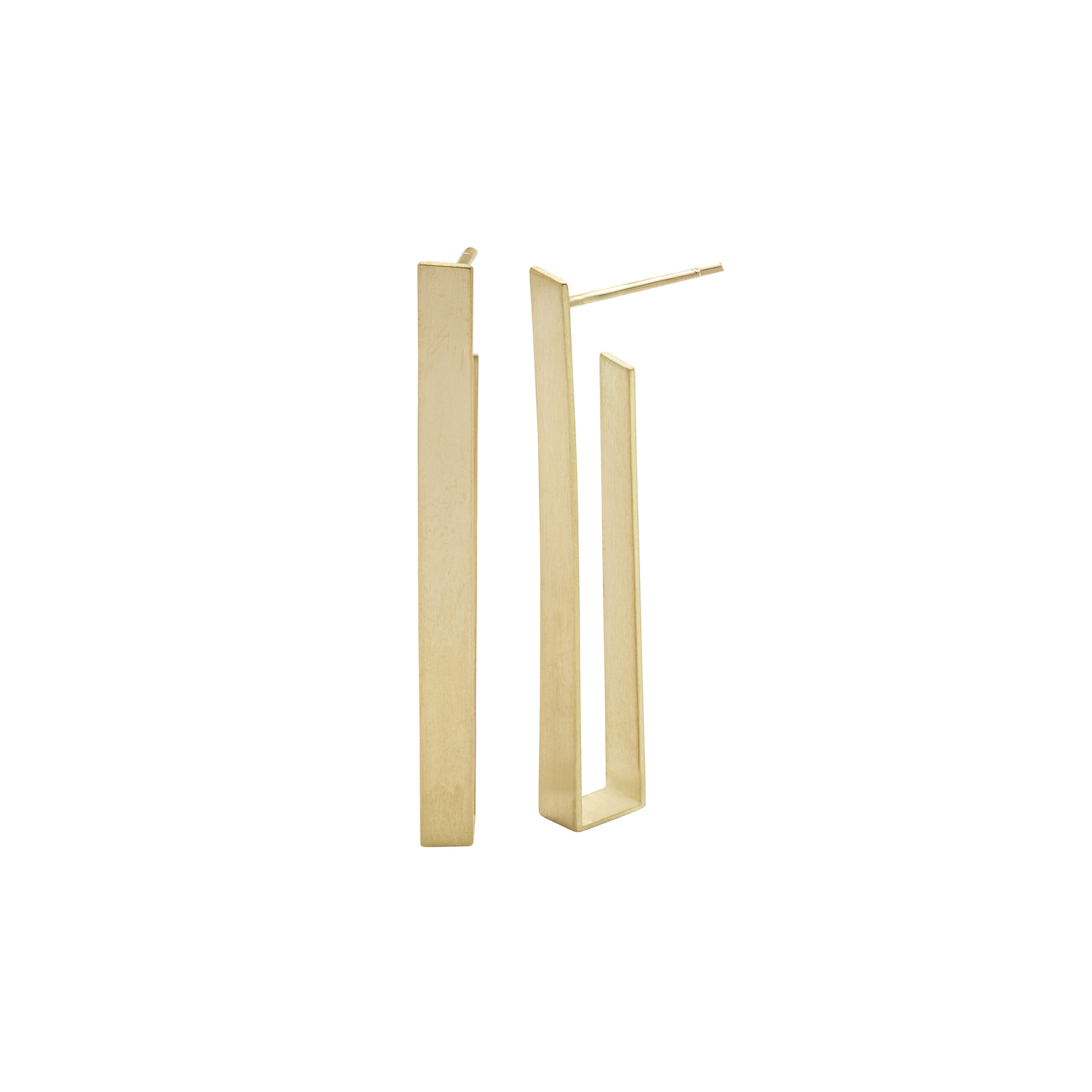 Kyla Katz Long Rectangular Earrings