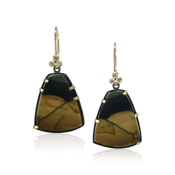 Karin Jacobson Oregon Jasper Earrings