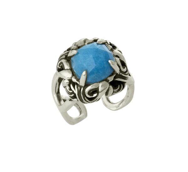 Stephanie Occhipinti Swallows Blue Ring