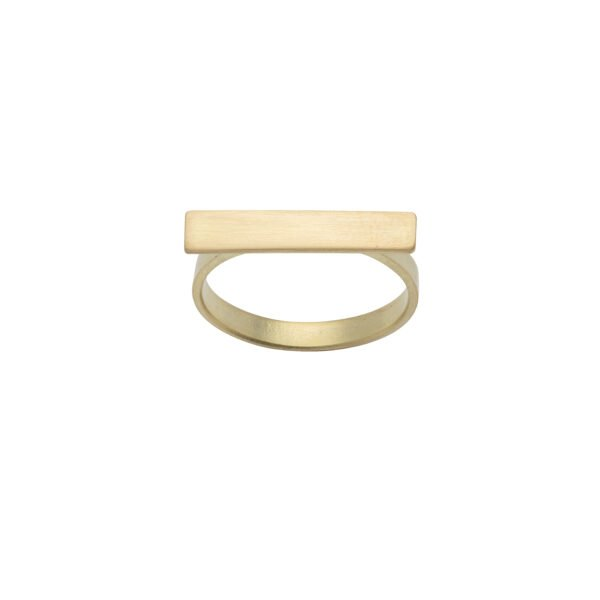 Kyla Katz Ring with Small Rectangular Head