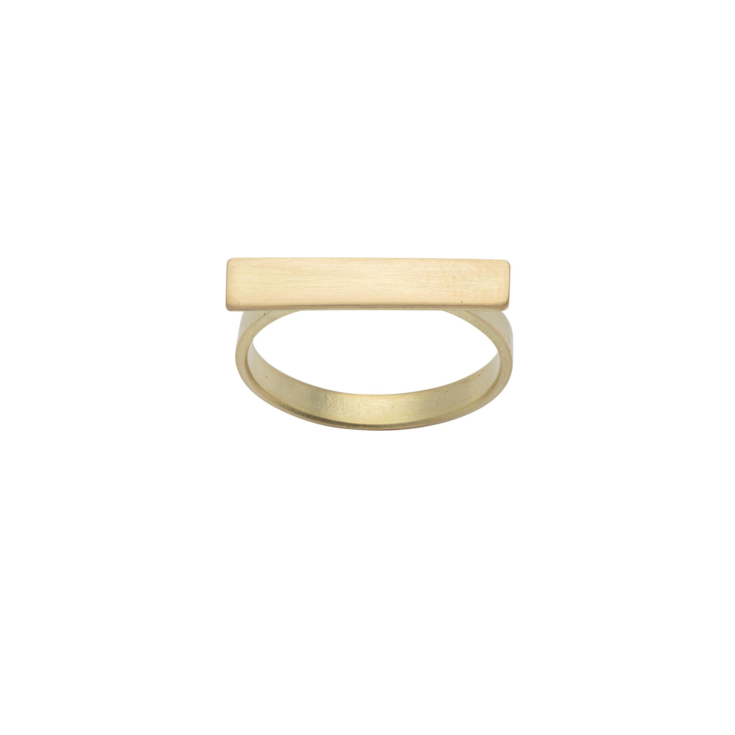 Kyla Katz Ring with Small Rectangular Head