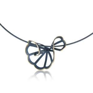 Karin Jacobson Cloud Fold Necklace