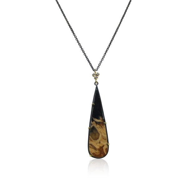 Karin Jacobson Fossil Pendant