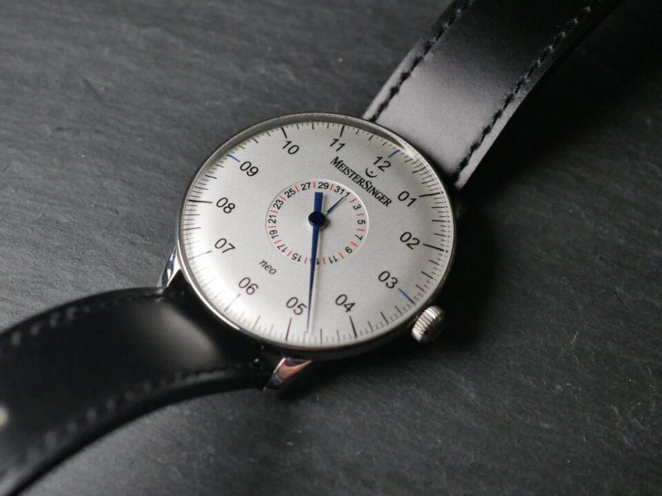 MeisterSinger Neo Plus Pointer Date