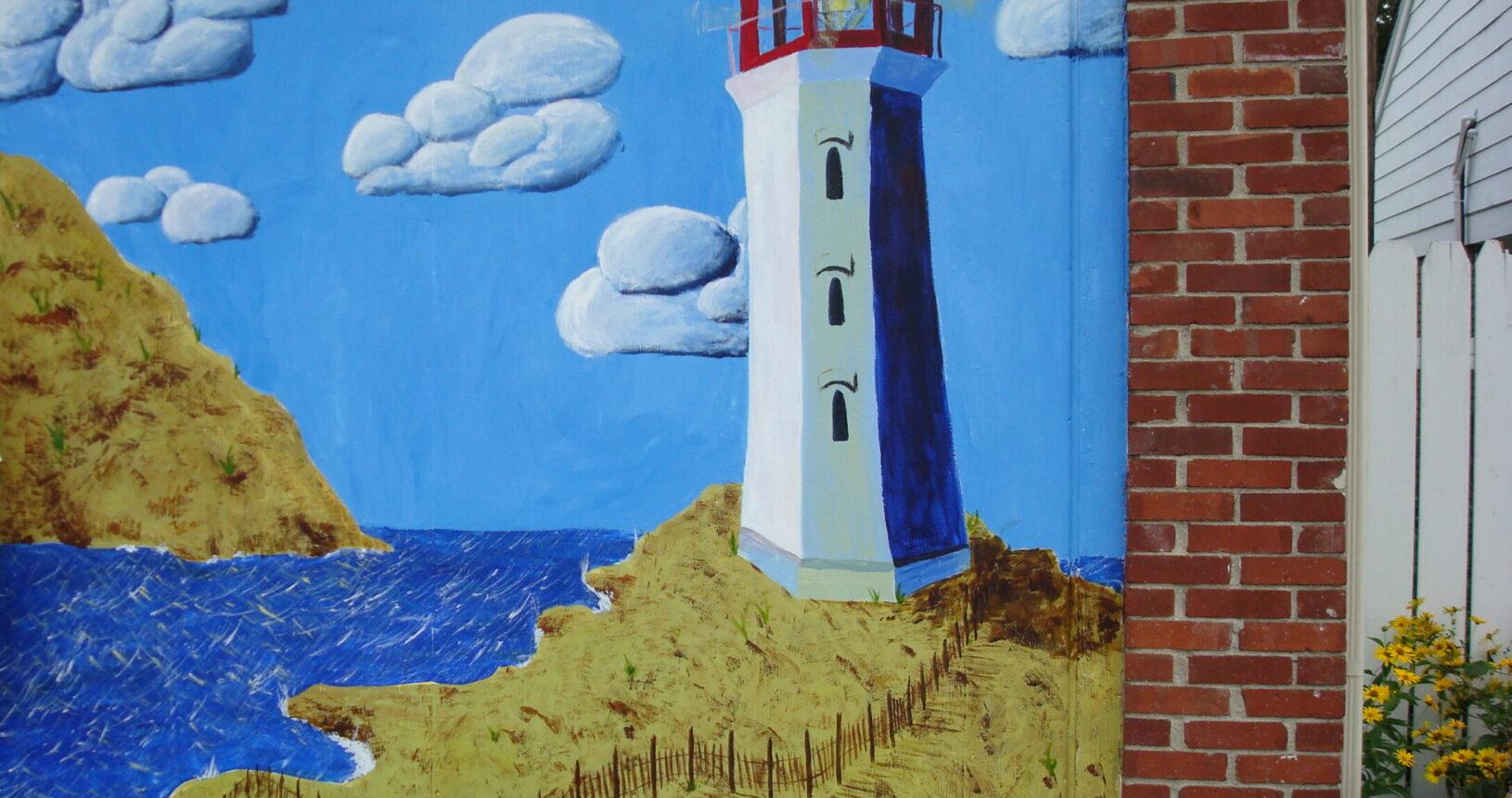 Katie Faulkner's 2010 Mural