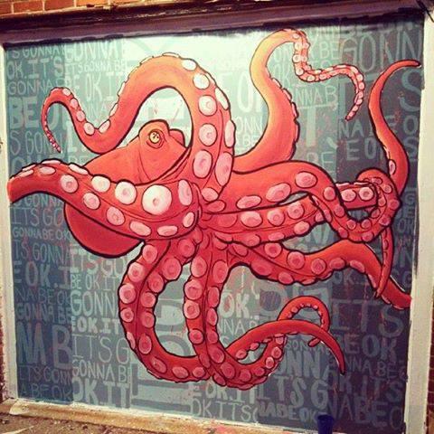 Becca Halstedt's 2013 mural