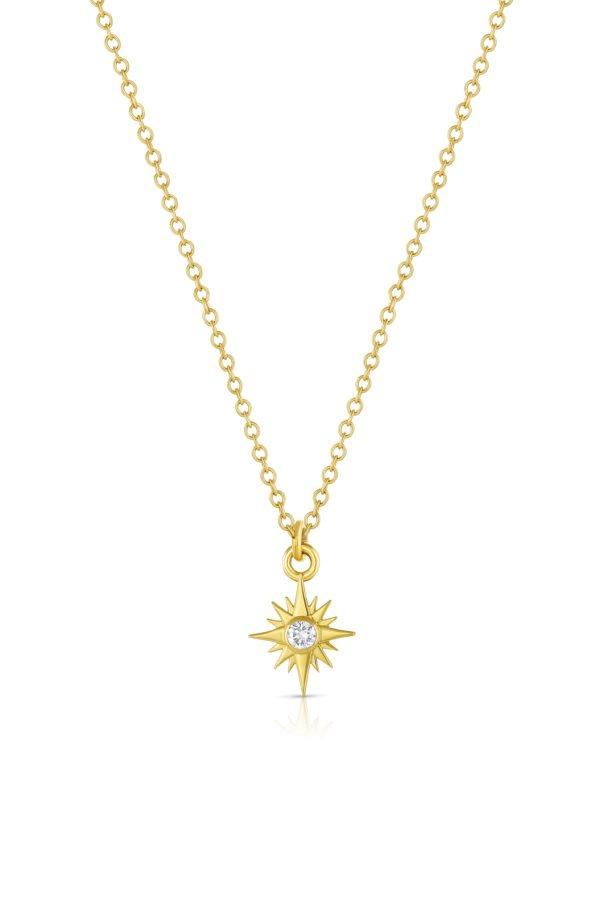 Mazahri Aï Khanum Star Pendant Diamond