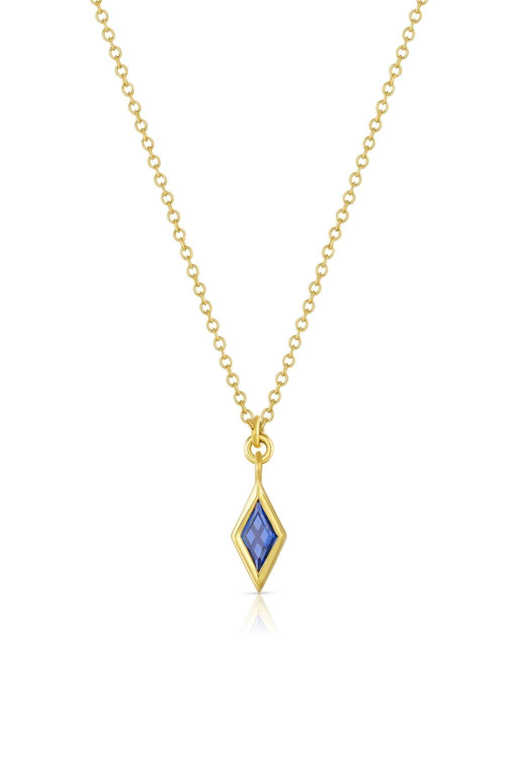 Mazahri Zan Pendant Blue Sapphire